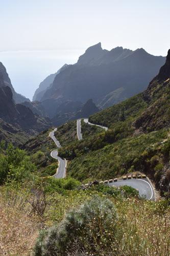 Serpentinenstrasse Gebirge